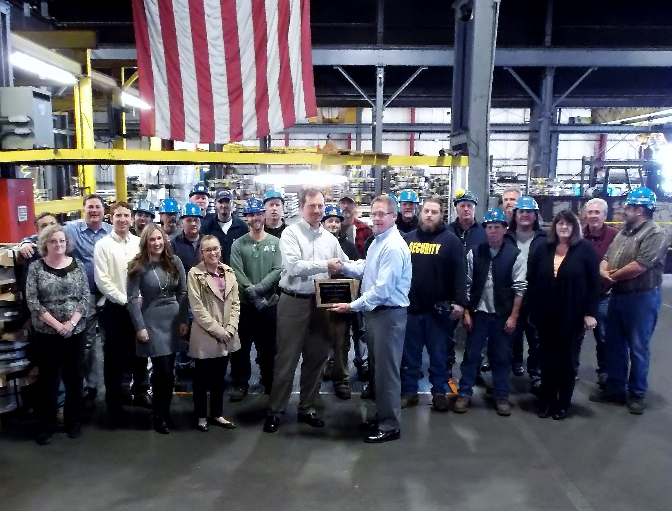American Steel Receives 2013 Gold Seal Award